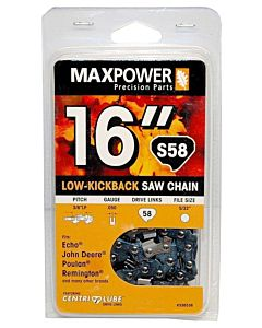 Chainsaw Chain S58 - 16 in