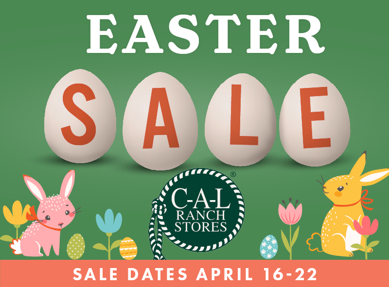 Easter gifts shop savings CAL Ranch Weekly Ad Shop Flyer Sale