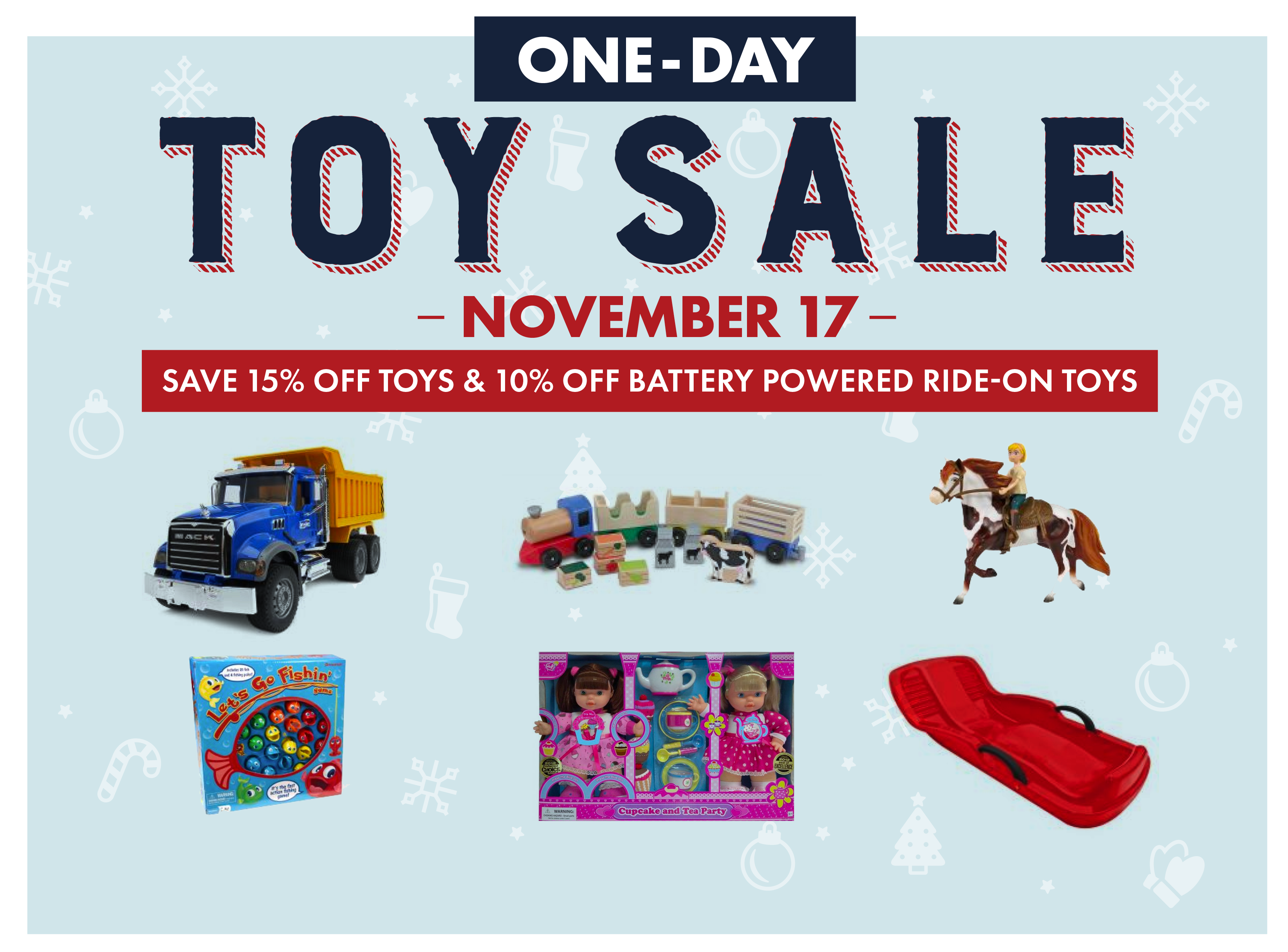 One-day Toy Sale Save Toys Ride-on Tractor Melissa and Doug